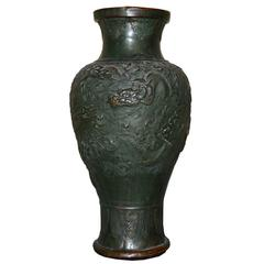 Large 19th Century Chinese Temple Vase or Urn