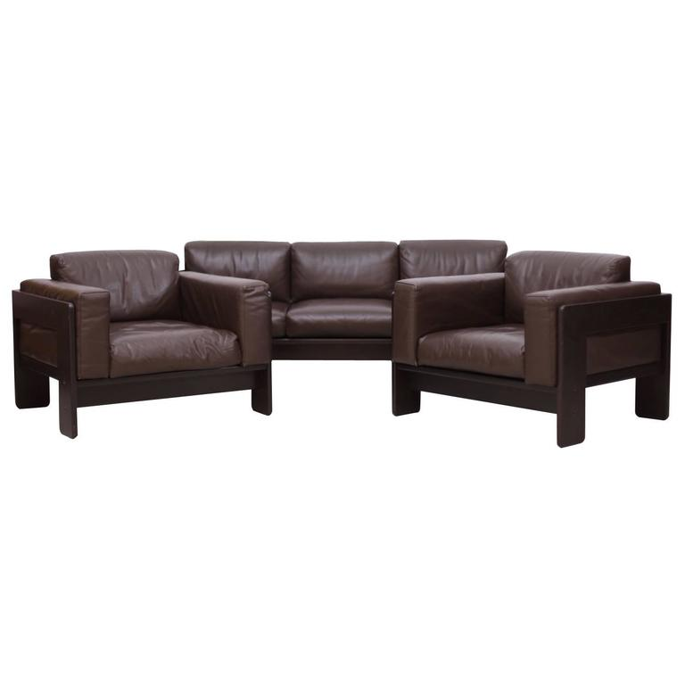 fully original bastiano sofa set by tobia scarpa for. Black Bedroom Furniture Sets. Home Design Ideas