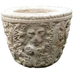 Highly Carved Italian Bowl