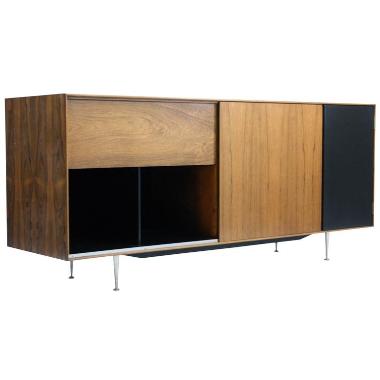 George Nelson For Herman Miller U0027Thin Edgeu0027 TV / HIFI Cabinet Model ...