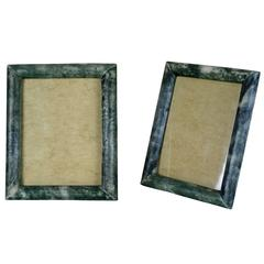 Pair of Stingray Art Deco Photo Frames