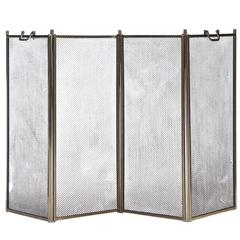 Hinged Fire Screen