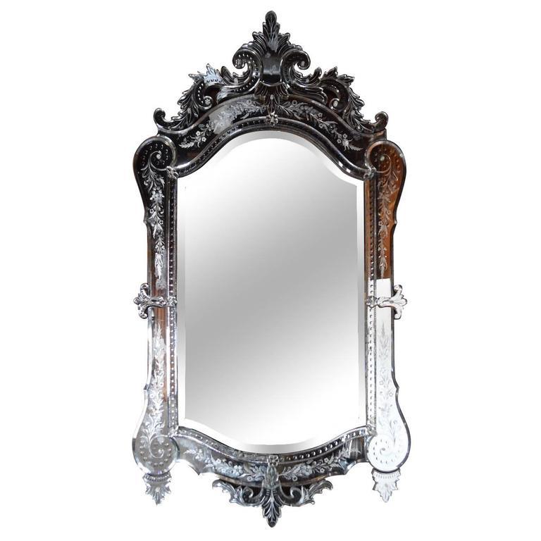 Fab Antique Venetian Mirror