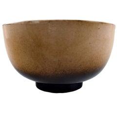 Unique Royal Copenhagen Large Ceramic Bowl by Nils Thorsson