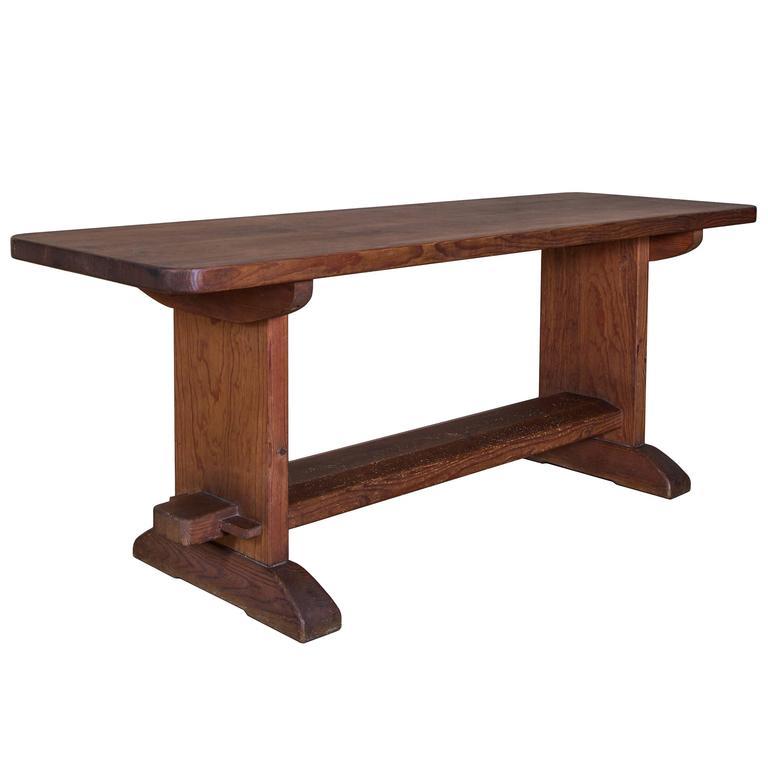 """Skoga"" Dining Table by Axel Einar Hjorth, Nordiska Kompaniet Ab, 1930s"