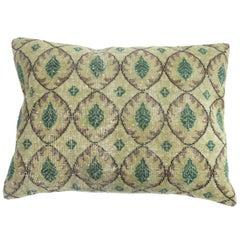 Large Turkish Rug Pillow