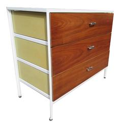George Nelson for Herman Miller Steel Case Series Chest of Drawers