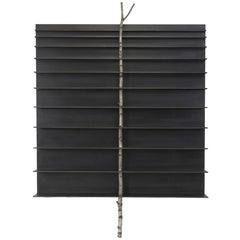 "Andrea Branzi, ""Tree 5"" Cabinet, Bookshelf, Birch Wood, Aluminum, 2010"
