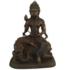Majestic Large Bronze Quan Yin