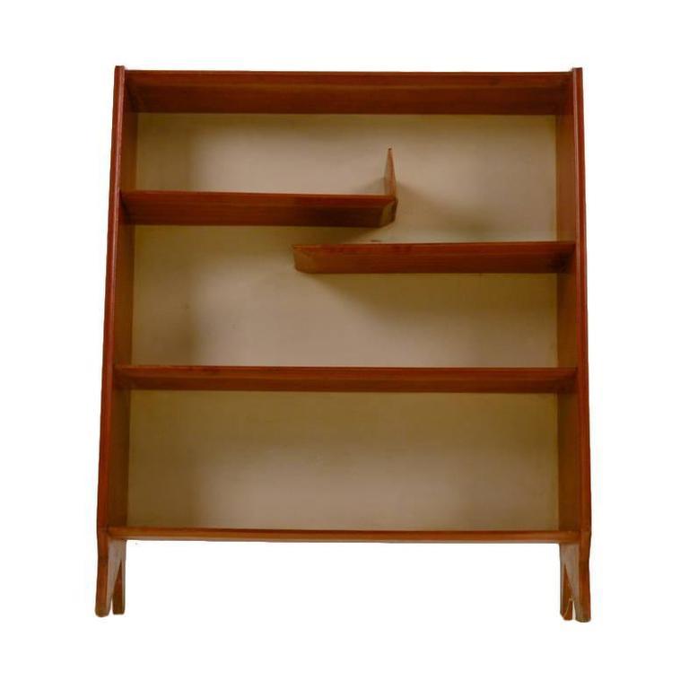 Rare Italian Bookcase, Gio Ponti Attributed