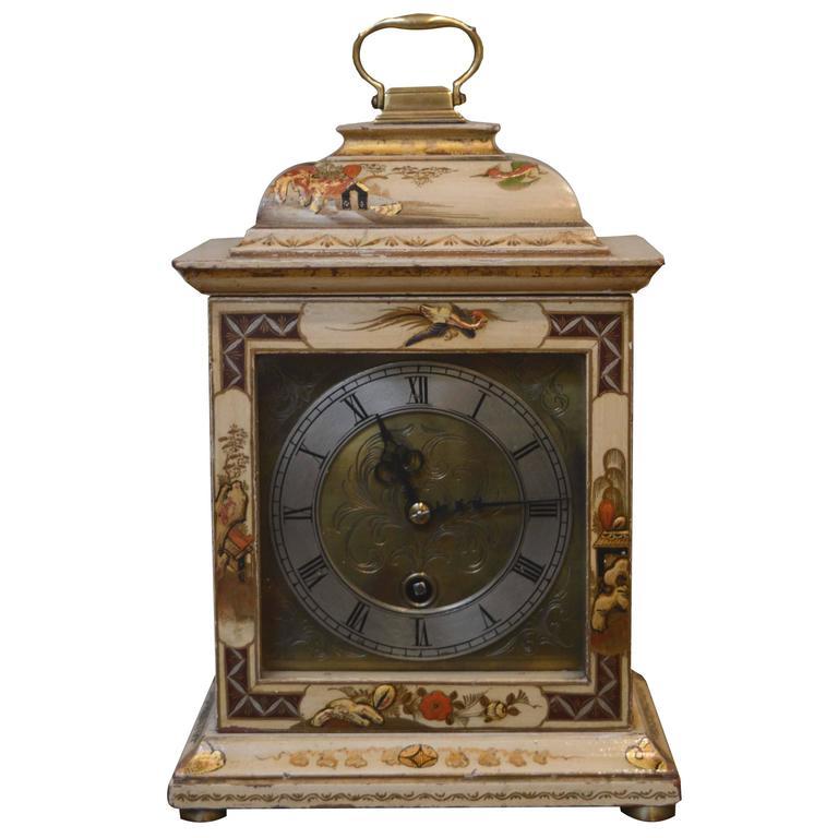 Unusual Chinoiserie Mantel Clock At 1stdibs