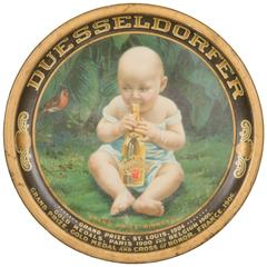 Rare Duesseldorfer Beer Award Tray