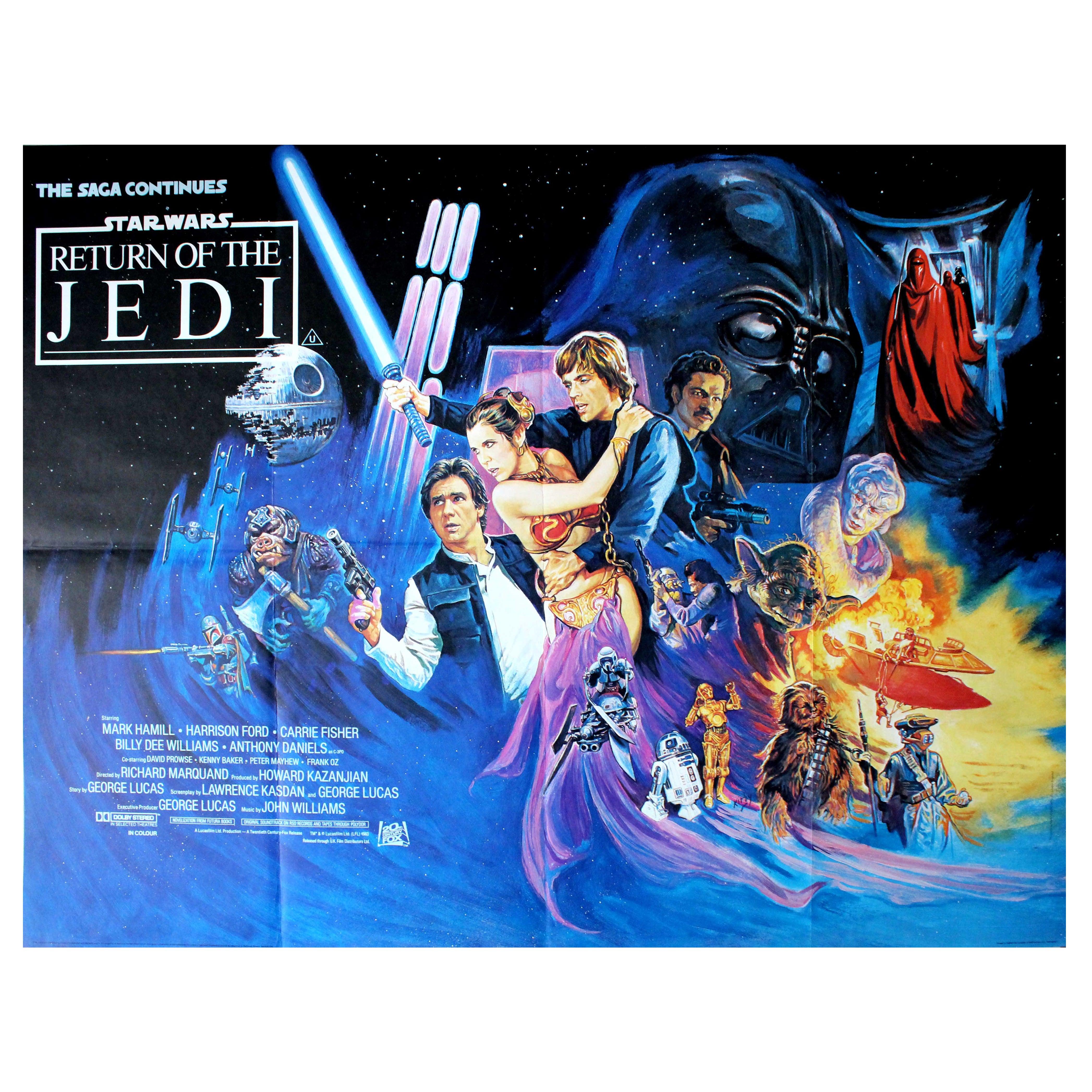 1977 Star Wars movie poster print 114