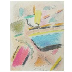 Abstract Drawing by Alexis-Louis Roche