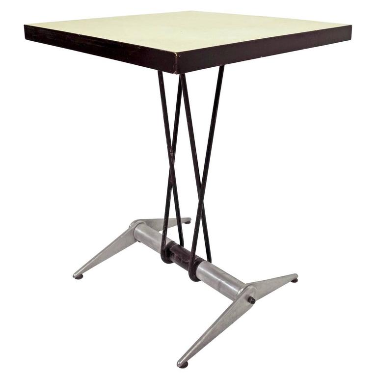 jean prouv table for the aero club at 1stdibs. Black Bedroom Furniture Sets. Home Design Ideas