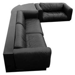 Cini Boeri Black Gradual System Seating