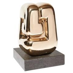 """""""Les Gémeaux"""" Sculpture by François Stahly, Numeroted 6/8, 1980"""