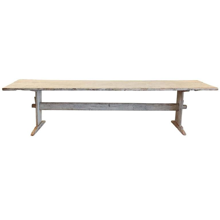 Large Gustavian Dining Table Sweden Circa 1810 At 1stdibs