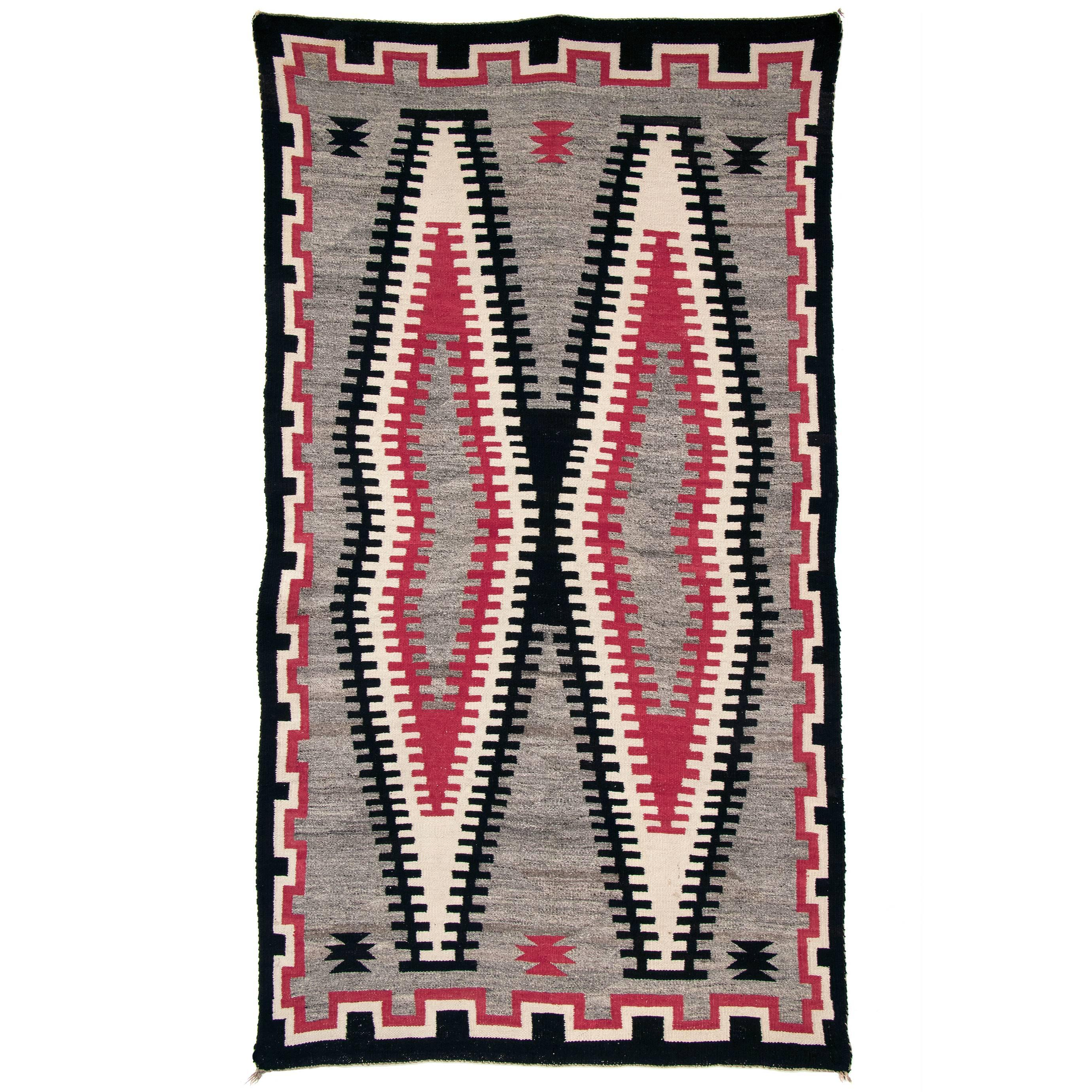 Vintage Navajo Trading Post Rug, circa 1930