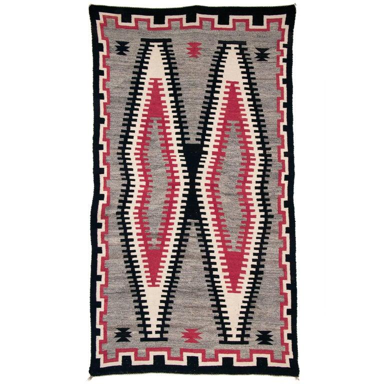 Vintage Navajo Trading Post Rug, circa 1930 For Sale