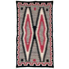 Vintage Navajo Trading Post Rug, 20th Century