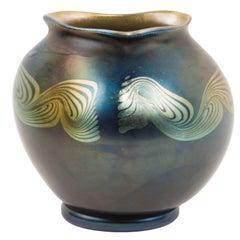 Tiffany Studios New York Favrile Decorated Vase