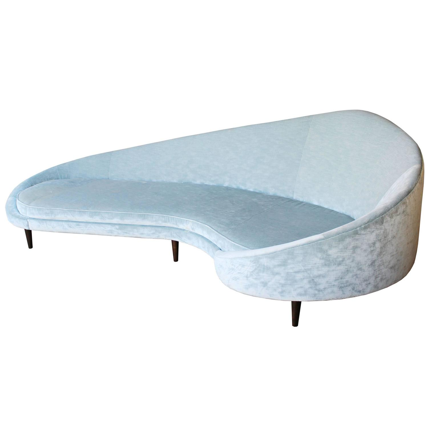 Ico Parisi Comma Sofa Refil Sofa