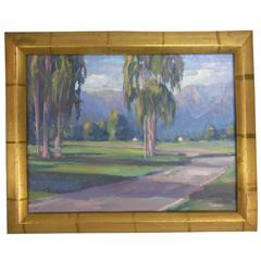Original Oil Painting by William Dorsey of a California Landscape