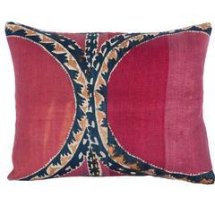 19th Century, Uzbek Tashkent Suzani Pillow