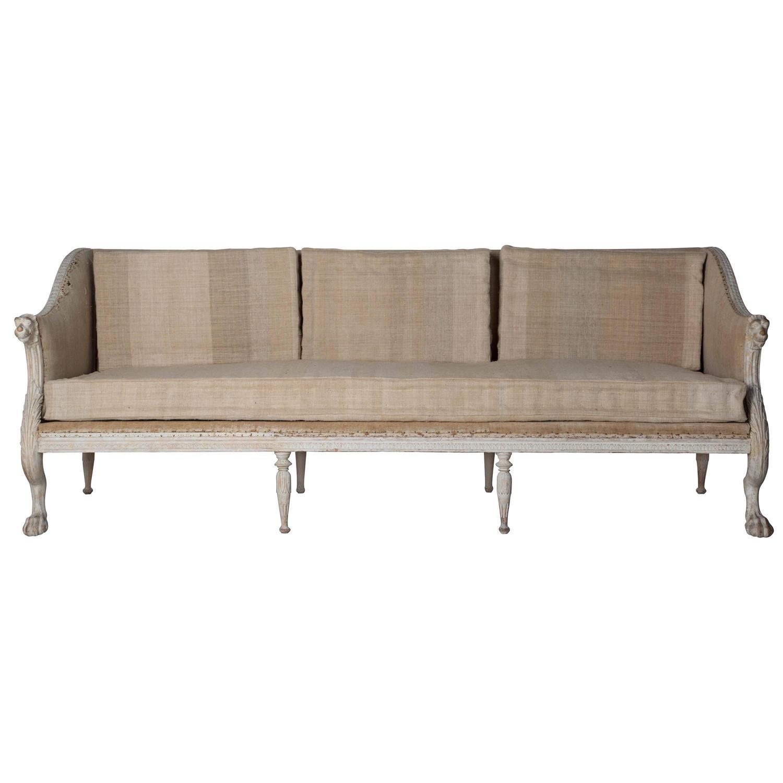 18th Century Swedish Sofa At 1stdibs