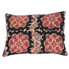 Late 19th Century Tadjik Suzani Pillow
