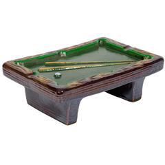 Billiard Table Ashtray