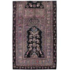 Antique Turkish Flat-Stiched Textile Tapestry