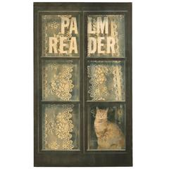Cat in the Window by Zuleyka Benitez