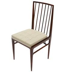 Set of Six 1940s Tenreiro Style Brazilian Jacaranda Dining Chairs