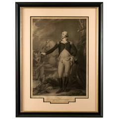 Important 18th Century Portrait of George Washington by John Trumbull