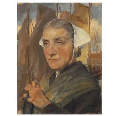 'The Fisherman's Wife' by Jan Franken (1878 - 1959)