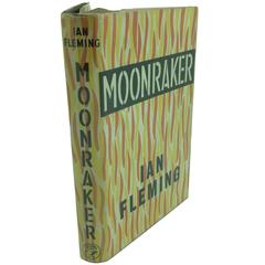 Moonraker by Ian Fleming, 1st Edition with Original Dust Jacket, circa 1955