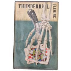 Thunderball by Ian Fleming, 1st Edition in Original Dust Jacket, circa 1961