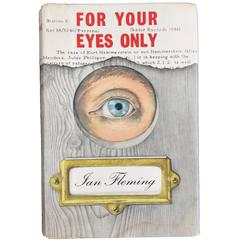 For Your Eyes Only by Ian Fleming, 1st Edition in Original Dust Jacket, 1960