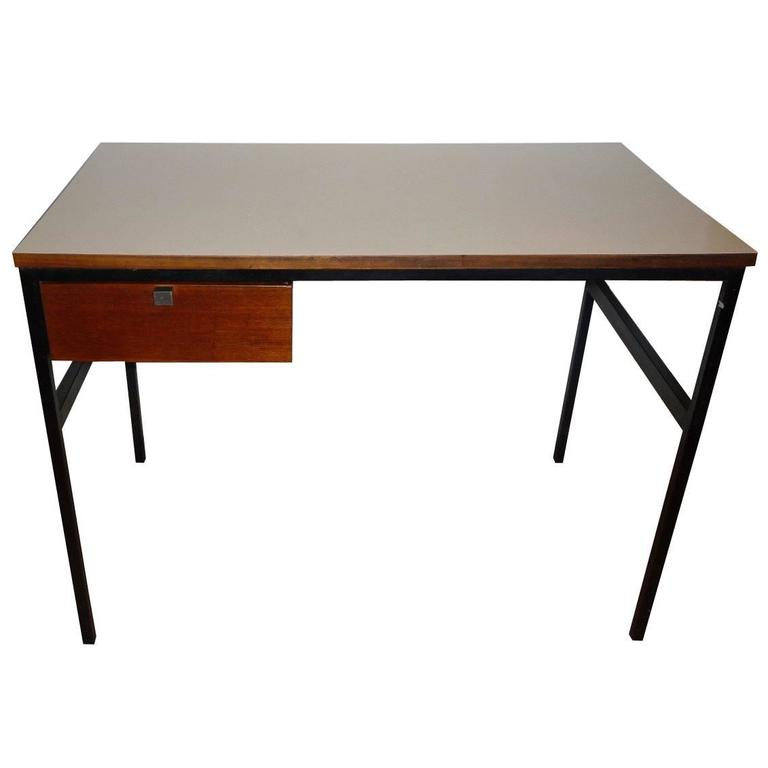 pierre paulin small desk circa 1962 for sale at 1stdibs. Black Bedroom Furniture Sets. Home Design Ideas