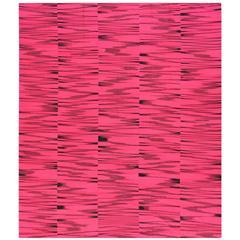 Pink Flat-Weave Rug