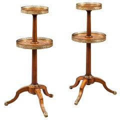 Pair of Antique Ètagerès Occasional Tables