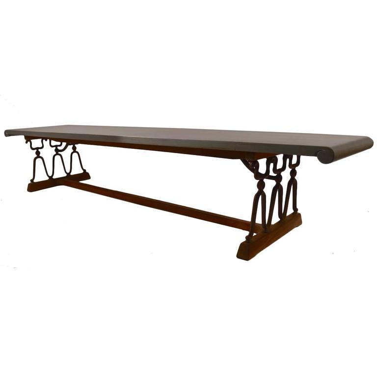 """John Van Koert for Drexel """"Casa Del Sol"""" Bench Coffee Table"""