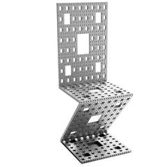 The Bitcoin Blockchain Menger Chair