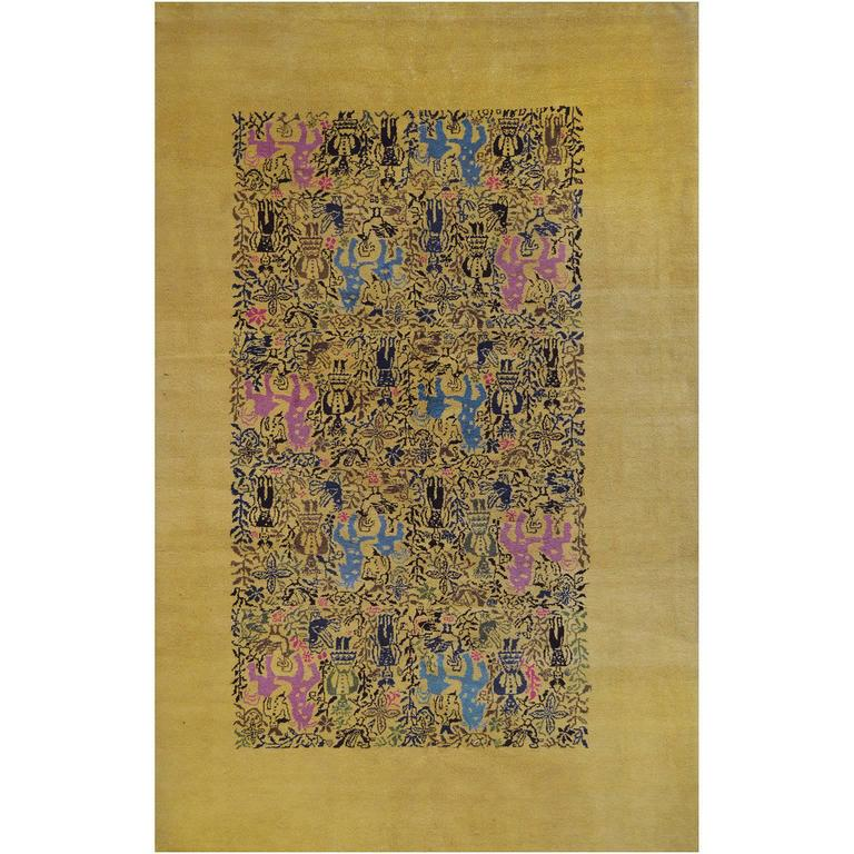 Mid-20th Century Deco Rug from South America