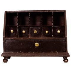 Queen Anne Oak Table Bureau