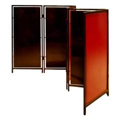 Black Lacquered Screen