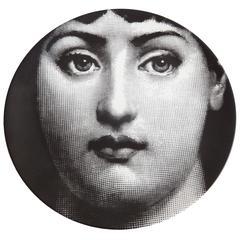 """Vintage Fornasetti Plate, """"Tema & Variazioni"""" #1"""