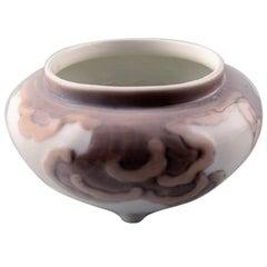 Rare Royal Copenhagen Art Nouveau Vase